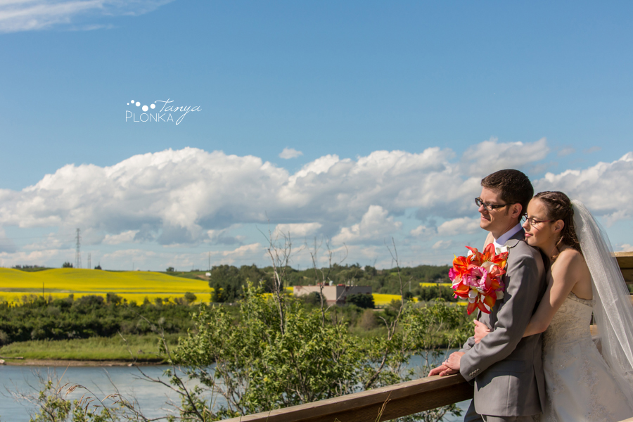 Jon & Cathryn, Fort Saskatchewan wedding photography