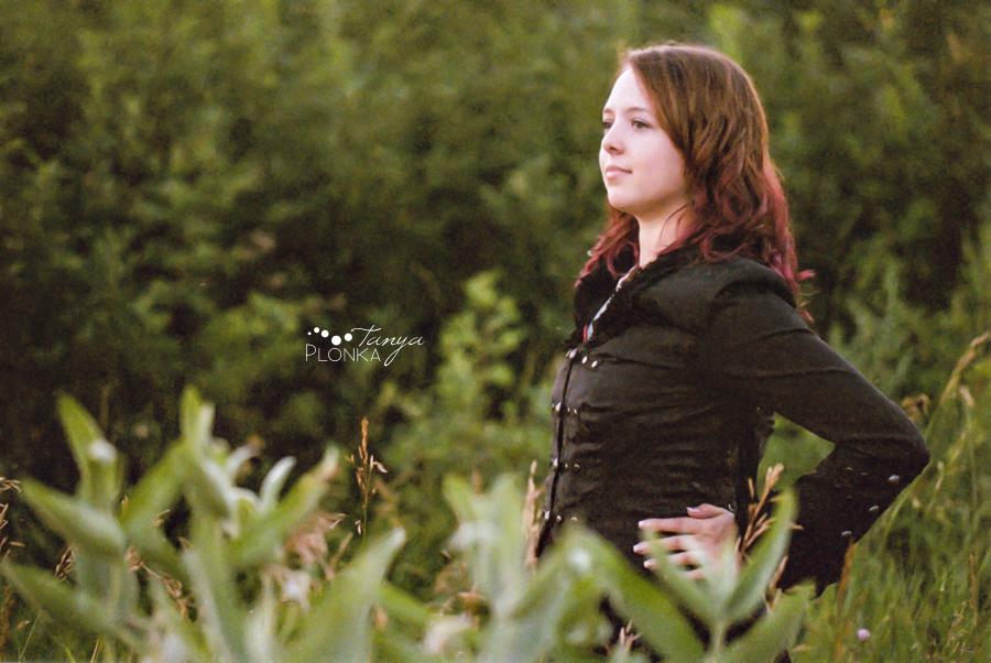 Lethbridge film photography portrait session