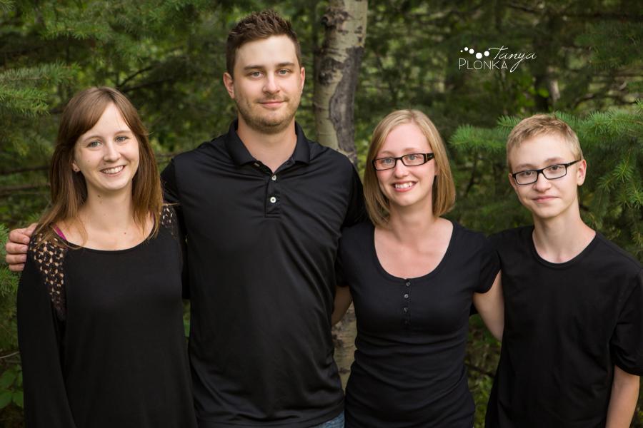 Lundbreck Falls family photos