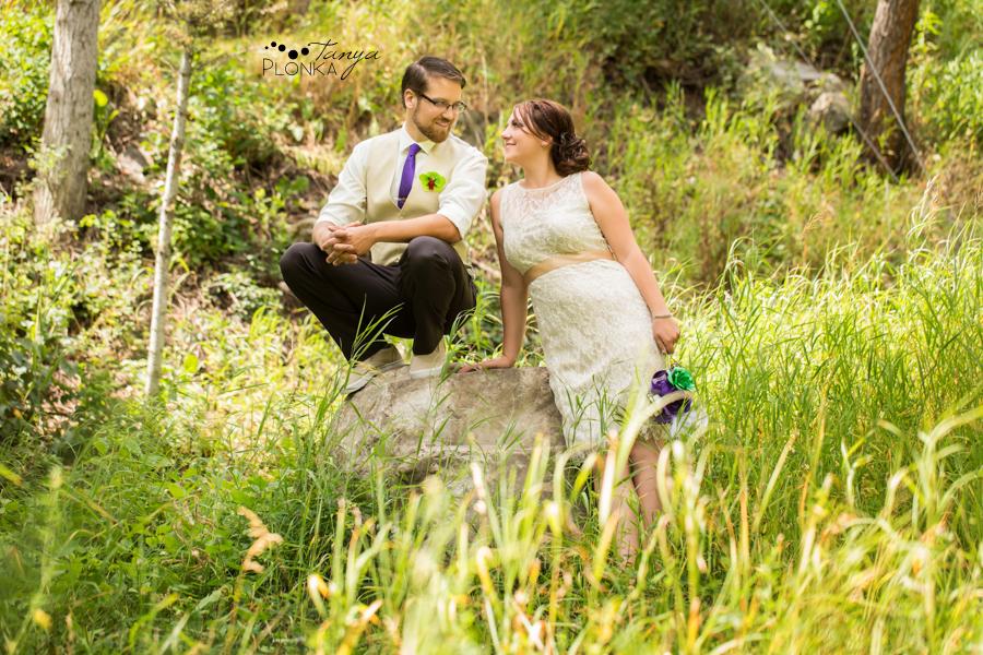 Tricia & Colin, Castle River summer wedding