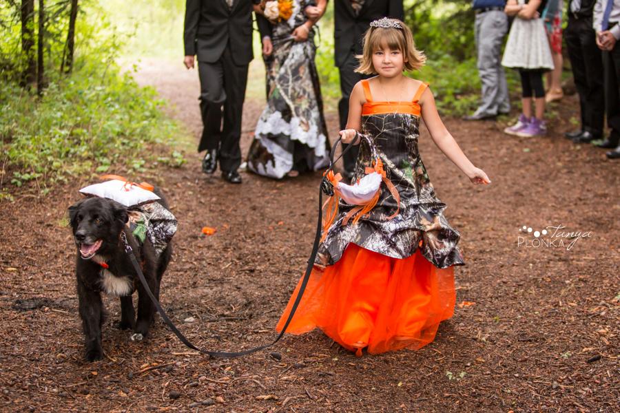 Anna & Allen, Castle Mountain outdoor wedding