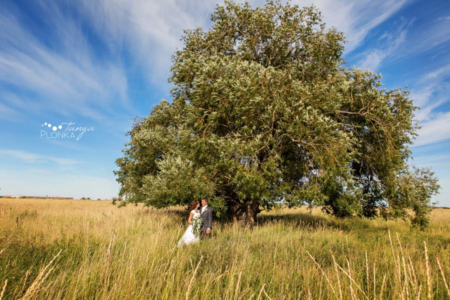 Lethbridge autumn farm wedding