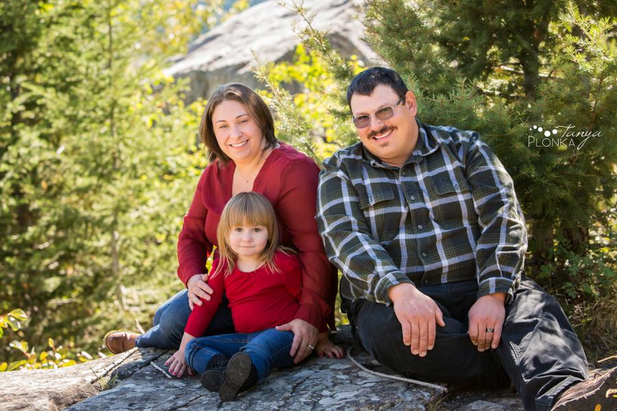Frank Slide summer family portraits