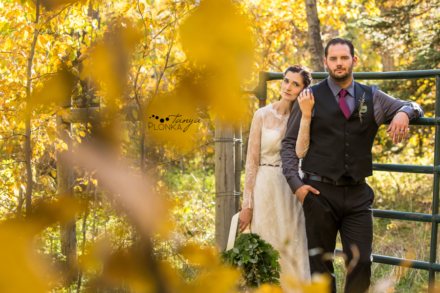 April & Ed, Gladstone Mountain Ranch wedding