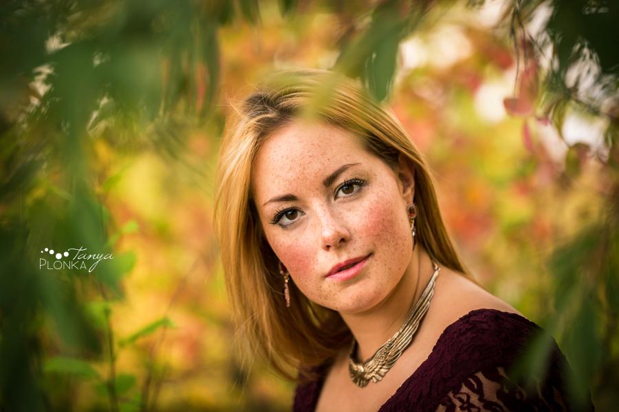 Women's outdoor Lethbridge fall portraits