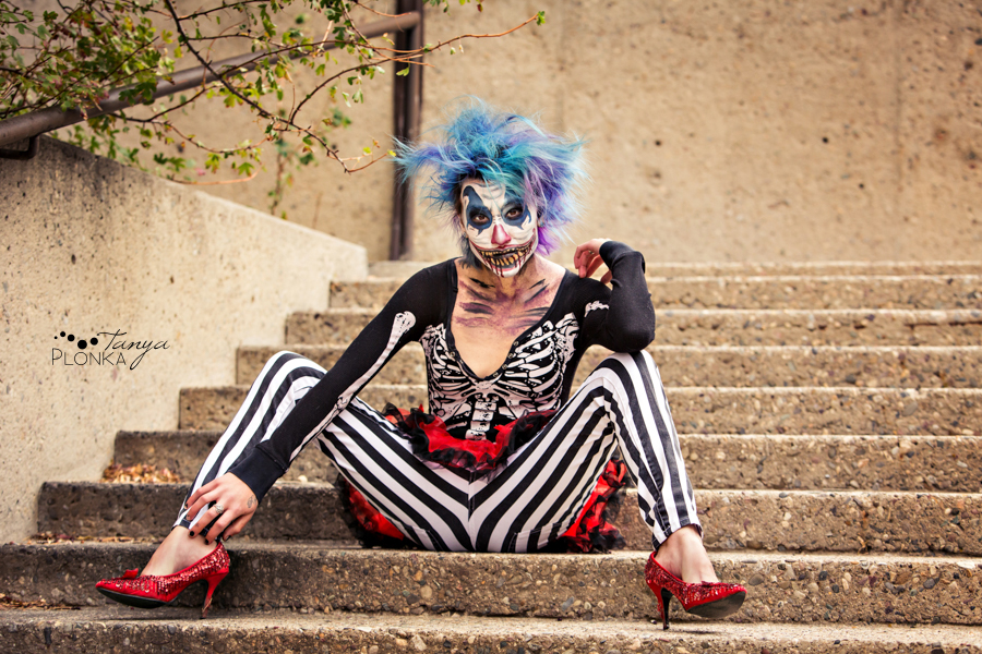 Terrifying Tami, scary clown photos