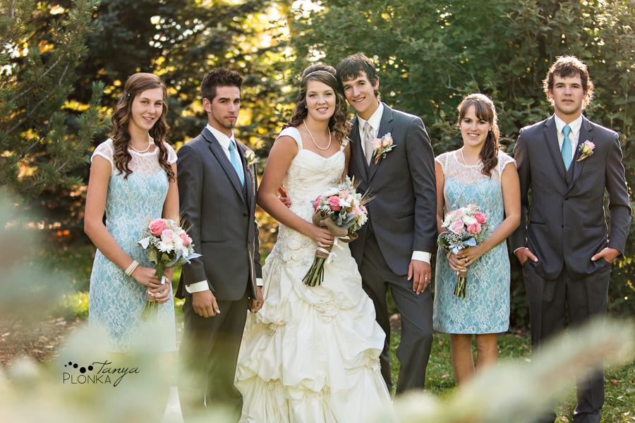 Jamie & Willem, Coaldale fall wedding