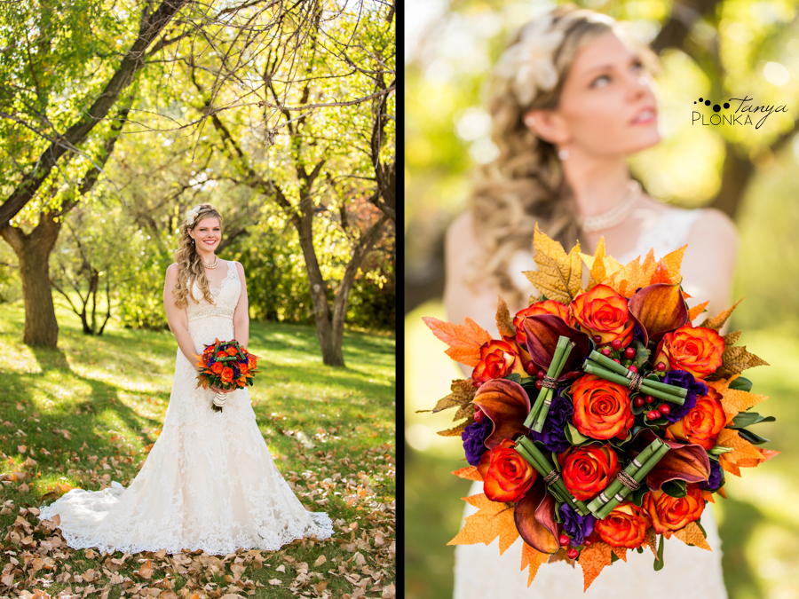 Cheryl & Josh, sunny Lethbridge autumn wedding