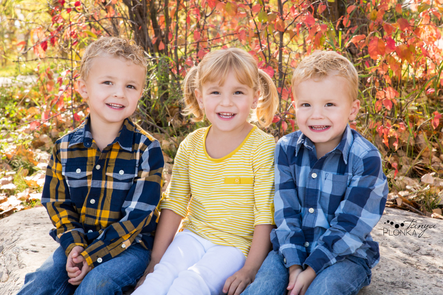 Lethbridge triplets family photos