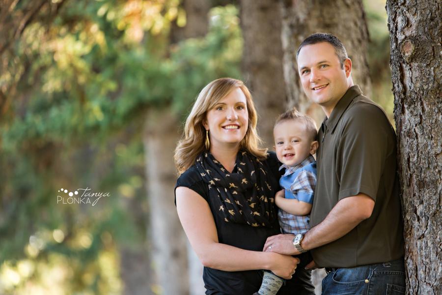 Henderson Lake Lethbridge autumn family session