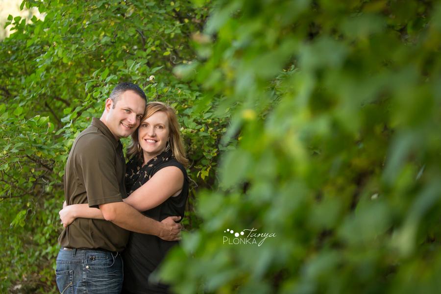 Henderson Lake autumn couples photo
