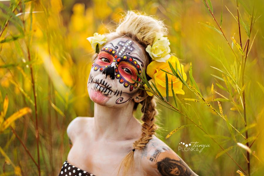 sugar skull, Dia de los Muertos photos in Lethbridge