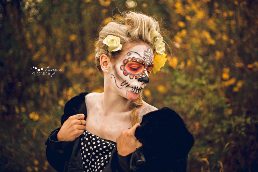 sugar skull, Dia de los Muertos photos Lethbridge