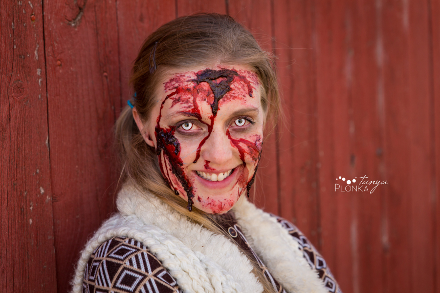 zombie girl with blood Lethbridge