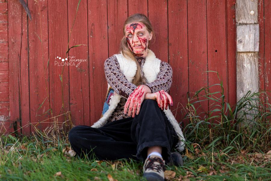 gory girl portraits Lethbridge