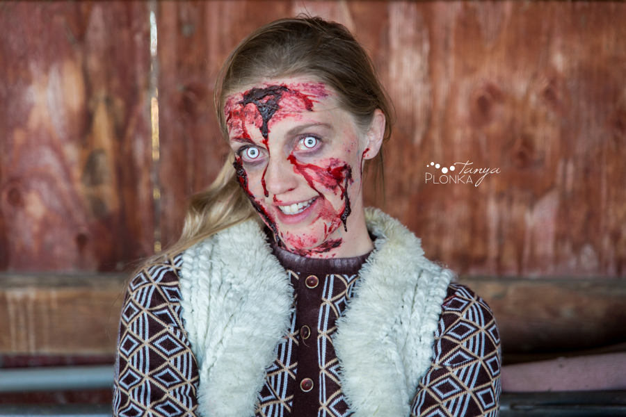 zombie girl portraits Lethbridge