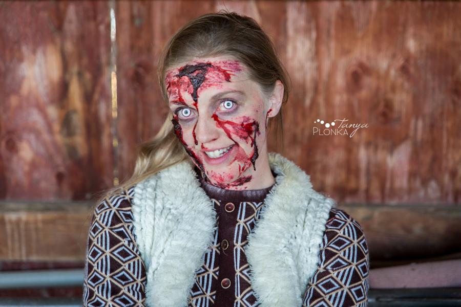 zombie girl portraits Lethbridge