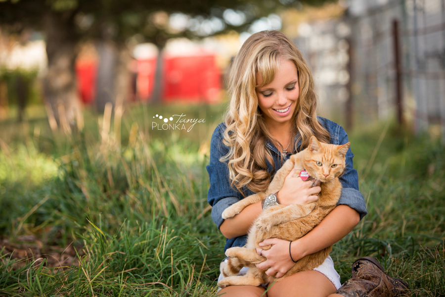 Taber teen girl and pets portraits