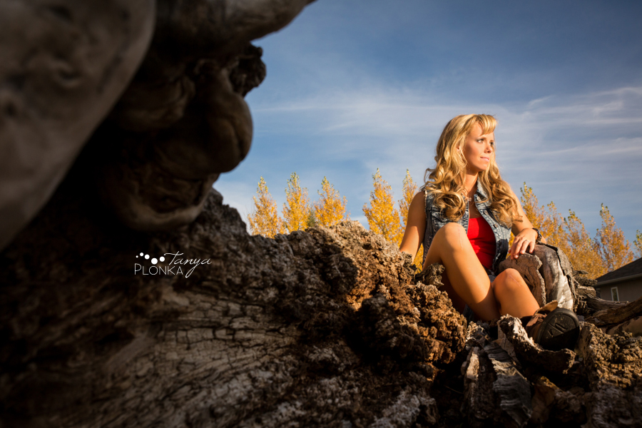 Taber teen girl farm portraits