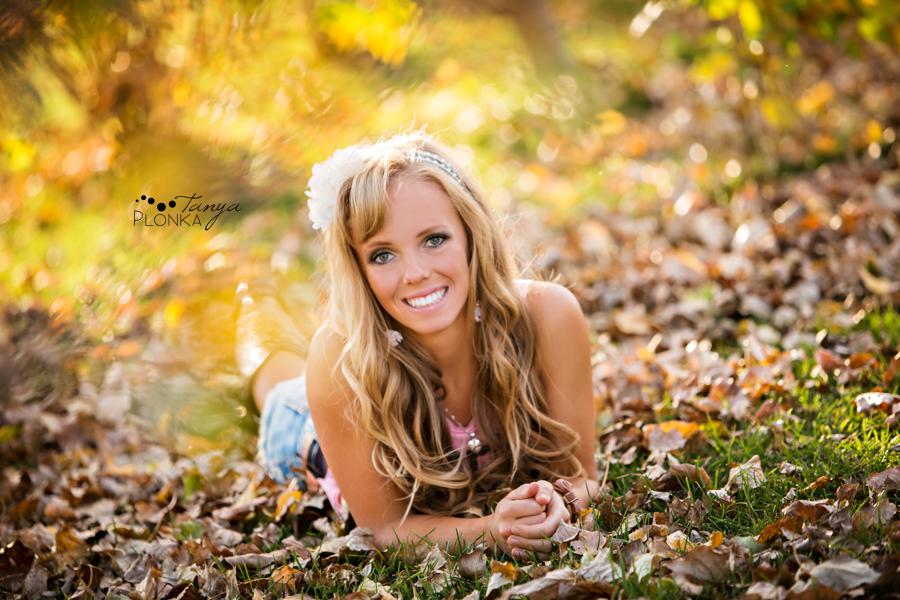 Taber teen girl autumn photos