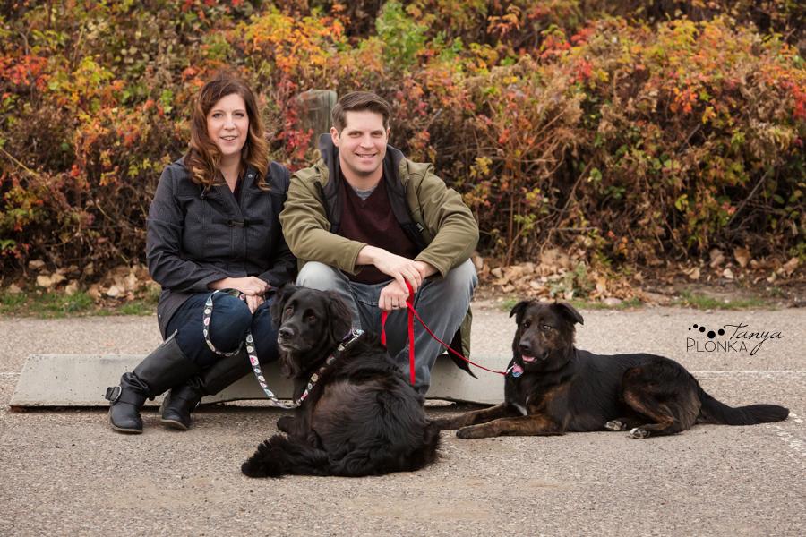 Lethbridge autumn pet family photos