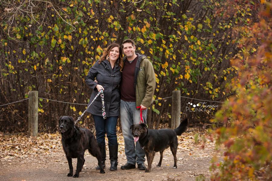Lethbridge autumn pet family session