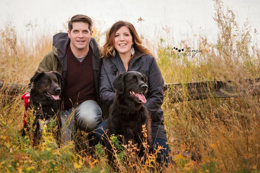 Pavan Park autumn pet family photos