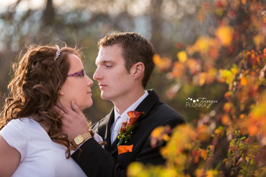 Trevor & Andrea, late autumn Lethbridge wedding