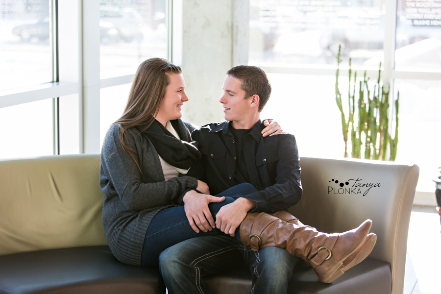 CASA winter couples photos