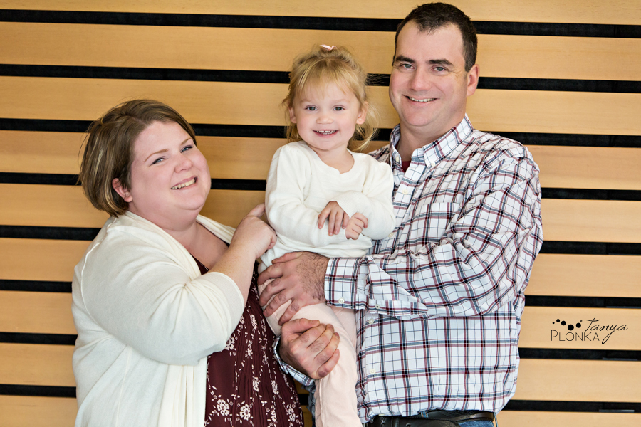 Lethbridge indoor winter family mini session