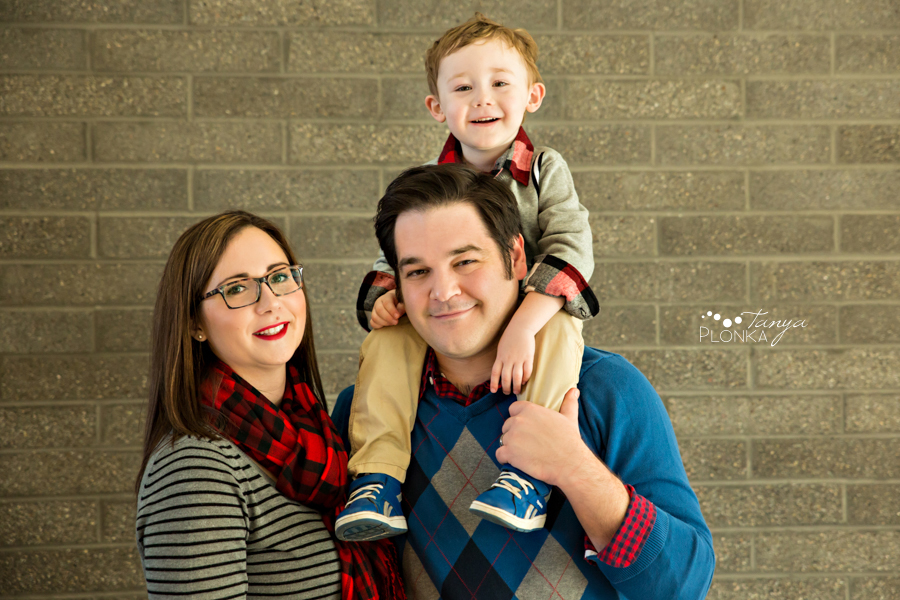 Lethbridge indoor winter family photos mini session