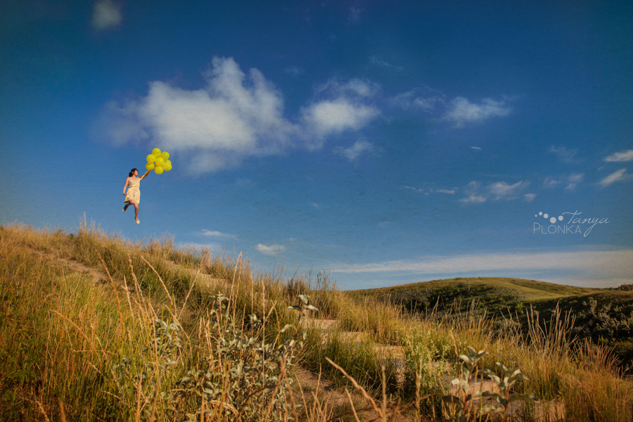 Lens Factor Project, landscape theme, Lethbridge summer balloon portraits