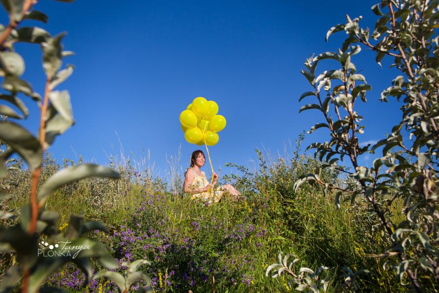 Lens Factor Project, landscape theme, Lethbridge summer balloon portraits