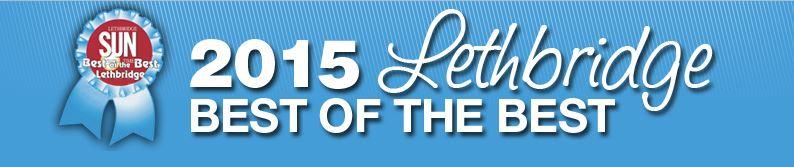 2015 Lethbridge Sun Times Best of the Best logo