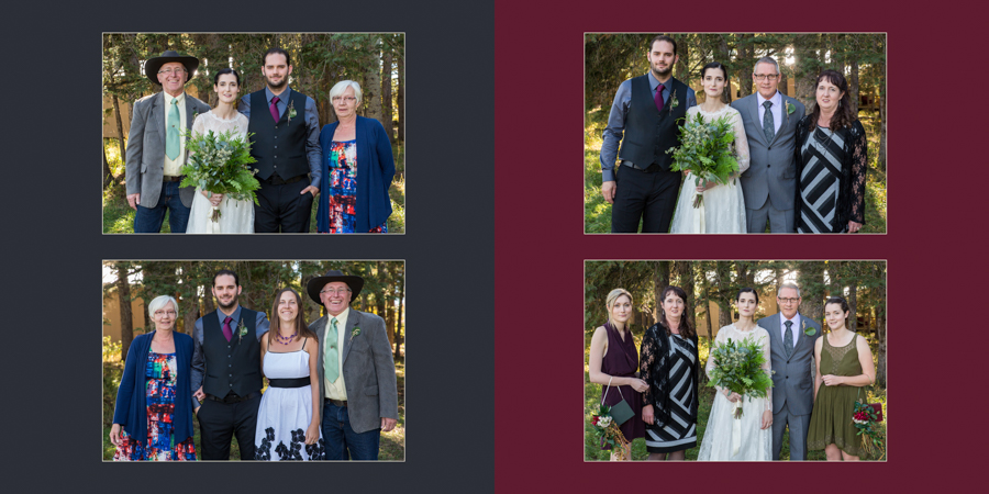 Lethbridge wedding album product photo, Modern+ Album