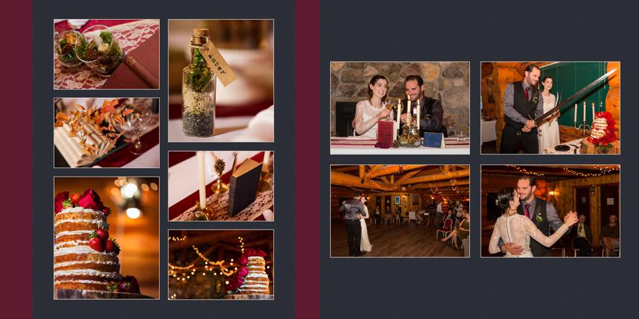 Lethbridge wedding album product photo, Modern+ Album