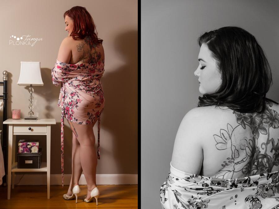 gorgeous Lethbridge boudoir session