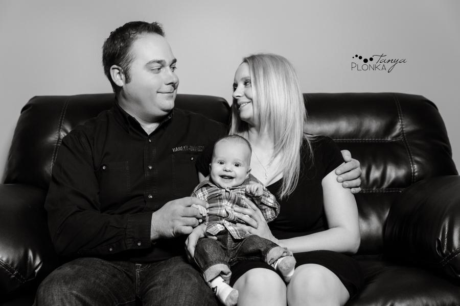 Lethbridge home baby photos