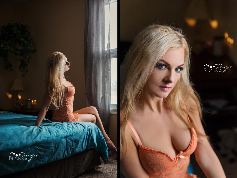 sexy Lethbridge boudoir session