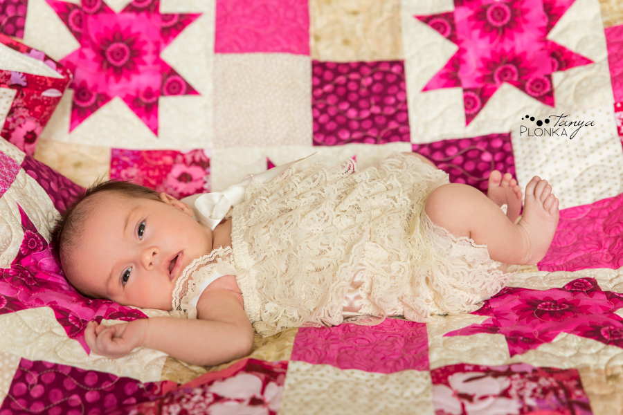 Lethbridge natural baby girl photography