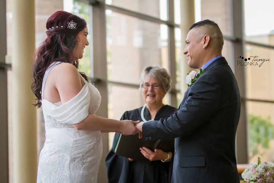 Norman & Erin, Lethbridge City Hall small wedding photography