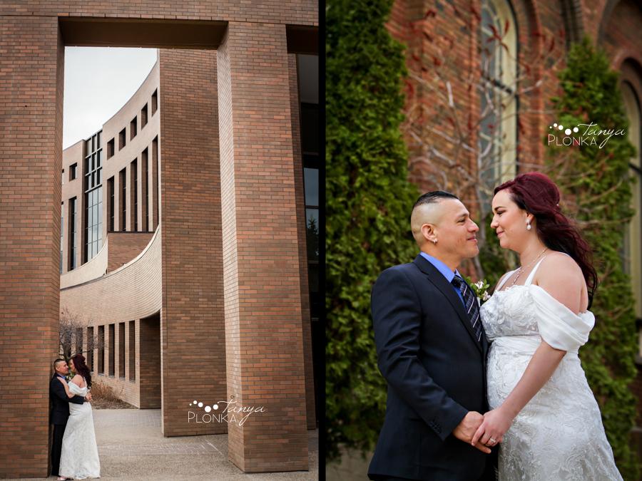 Norman & Erin, Lethbridge early spring wedding photos