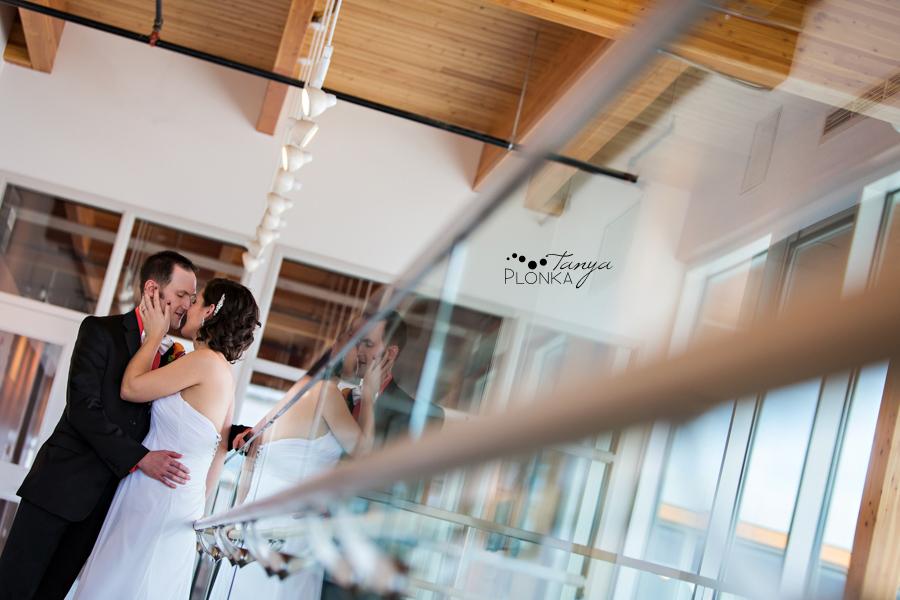 Kyle & Briana, Lethbridge CASA spring wedding