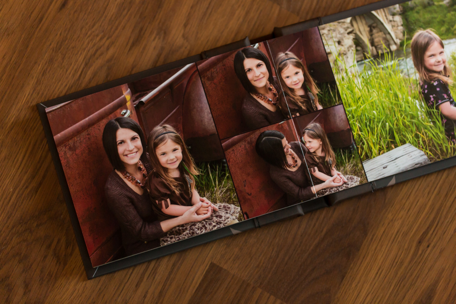 Lethbridge photographer family album product photo, Modern Album