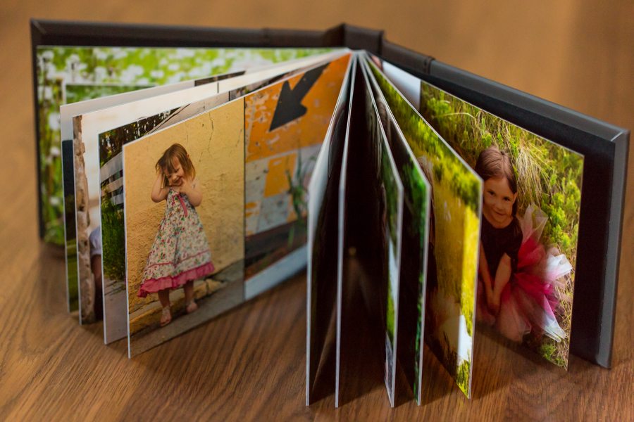 Lethbridge photographer family album product photo, Modern Album