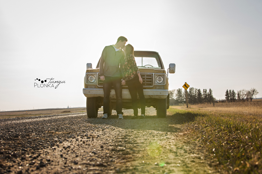 Lethbridge country inspired engagement photos