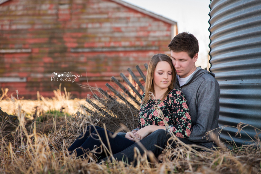 Lethbridge country inspired engagement session