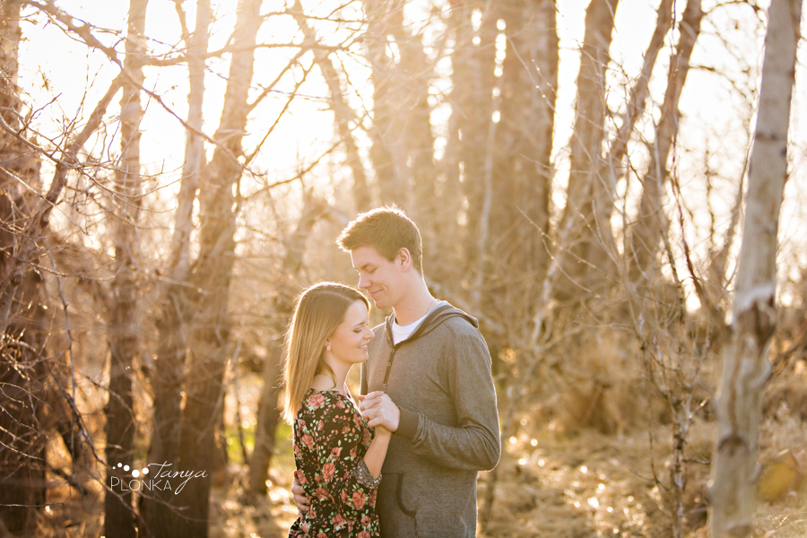 Coaldale country inspired engagement session
