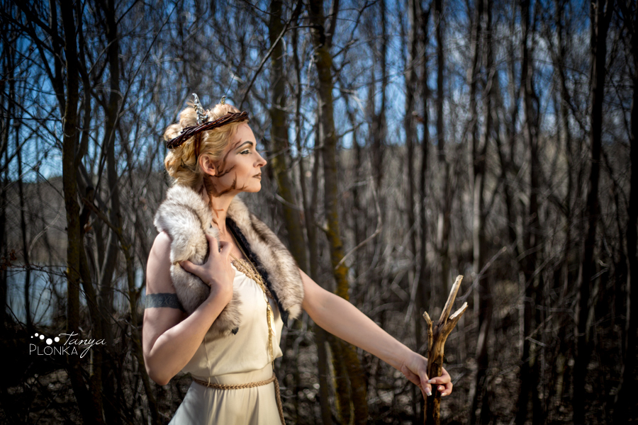 Goddess of the Woods, Lethbridge personal creative photo project