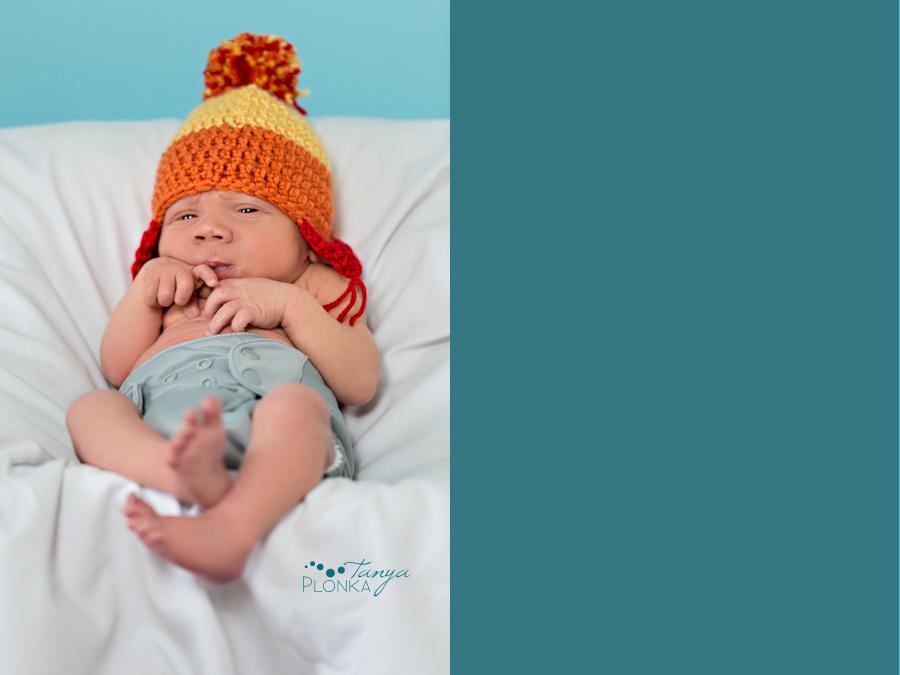 Lethbridge newborn indoor photo session